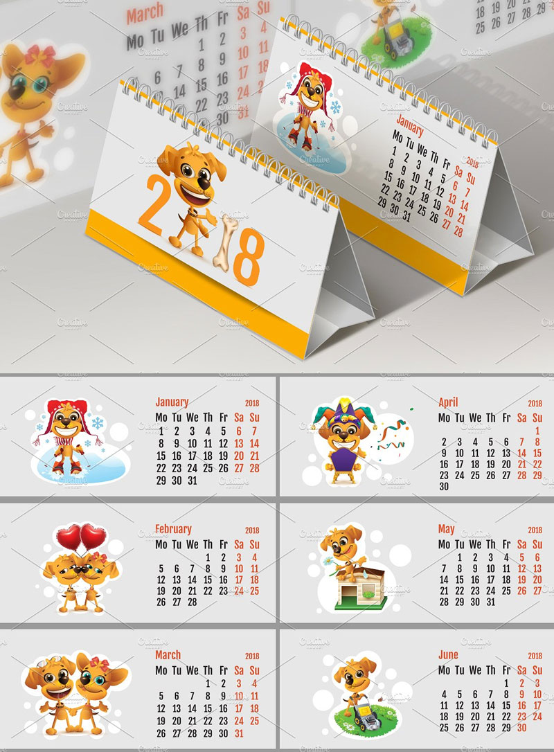 Yellow-Dog-2018-Calendar