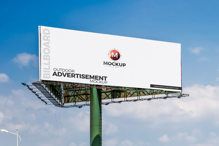 Free-Outdoor-Advertisement-Billboard-Mockup