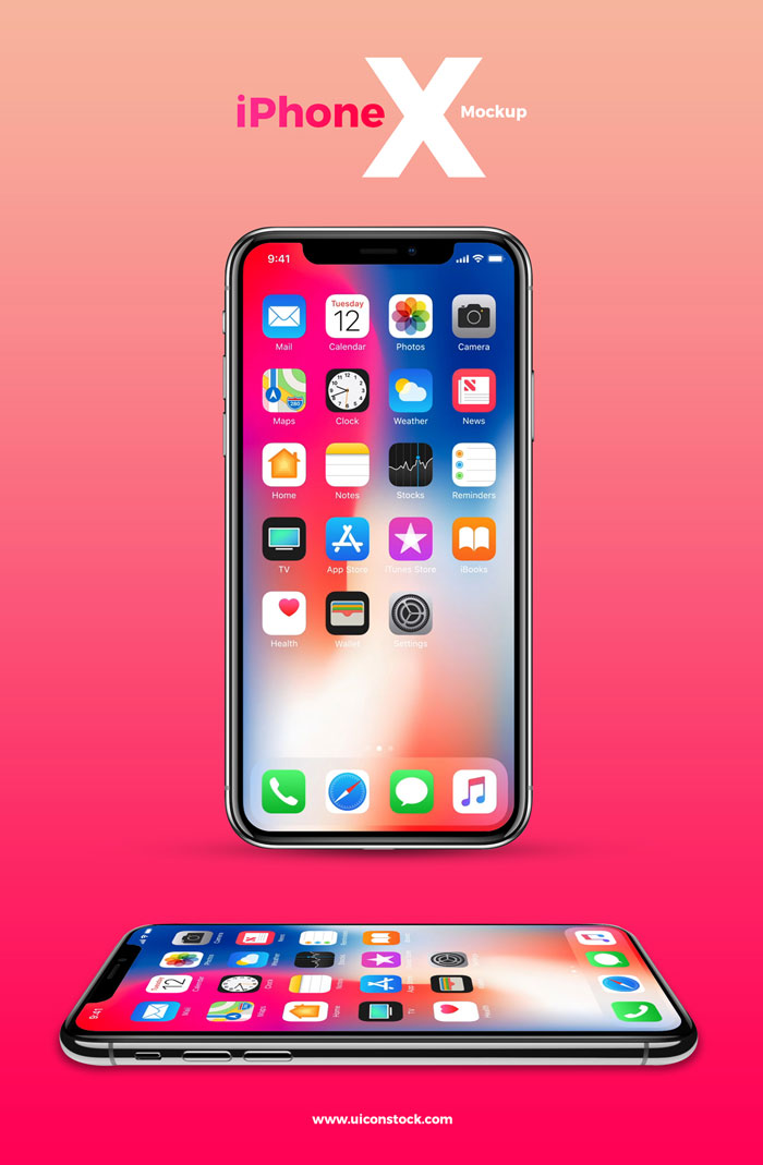 Free-iPhone-X-Mockup-With-2-Angles