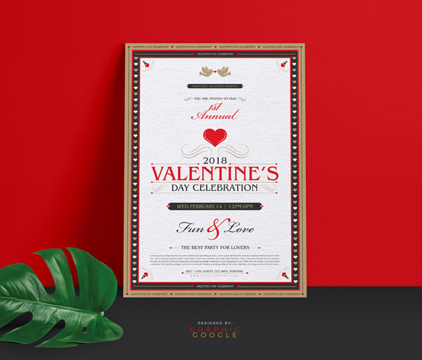 Free-2018-Valentine-Flyer-Ai-Template