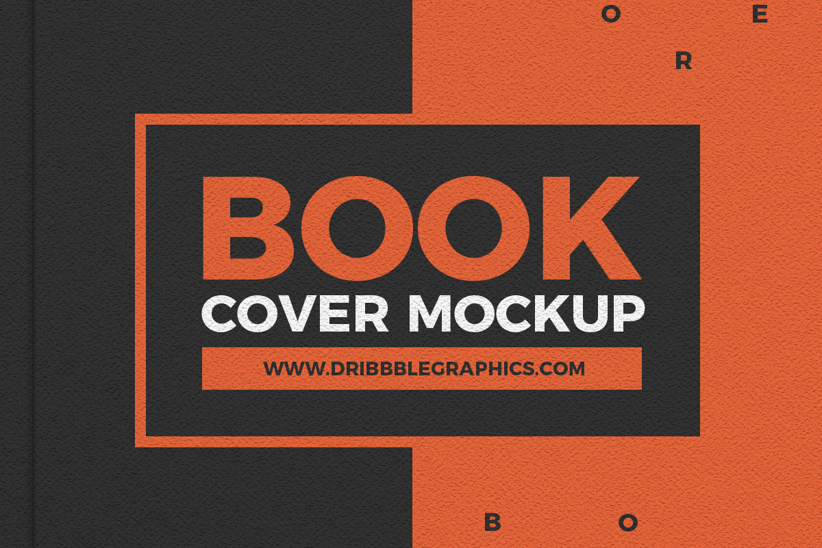 Free-Book-Cover-Mockup-PSD-With-Texture-Effect