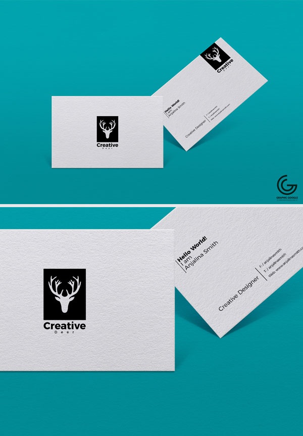 Free-PSD-Textured-Business-Card-Mockup