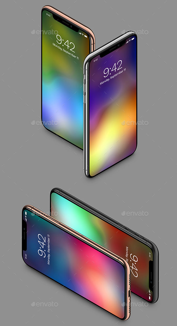 Executive-&-Pro-iPhone-X-Mockups-6