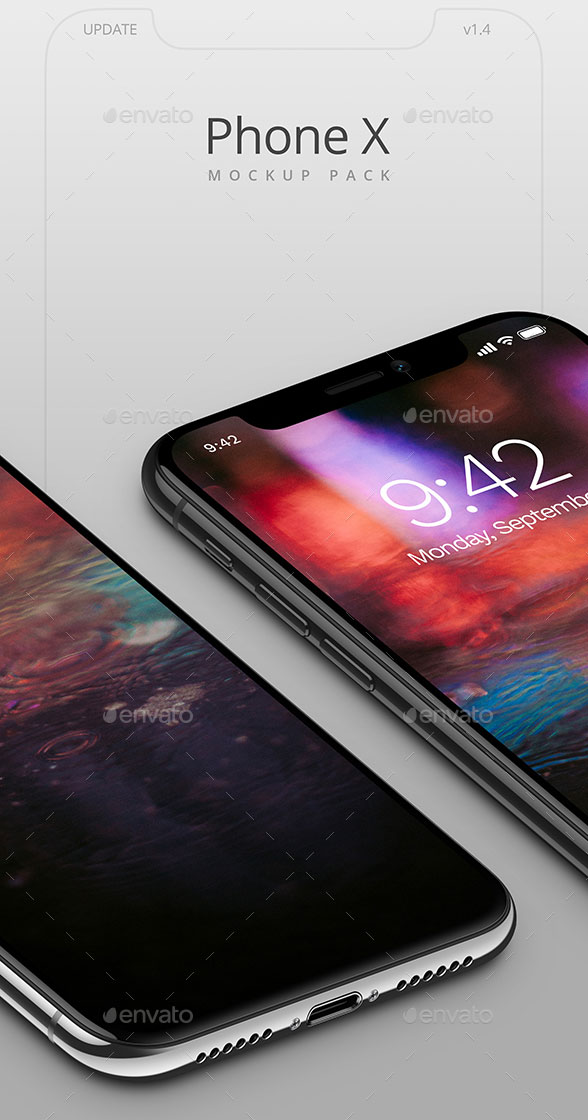 Executive-&-Pro-iPhone-X-Mockups