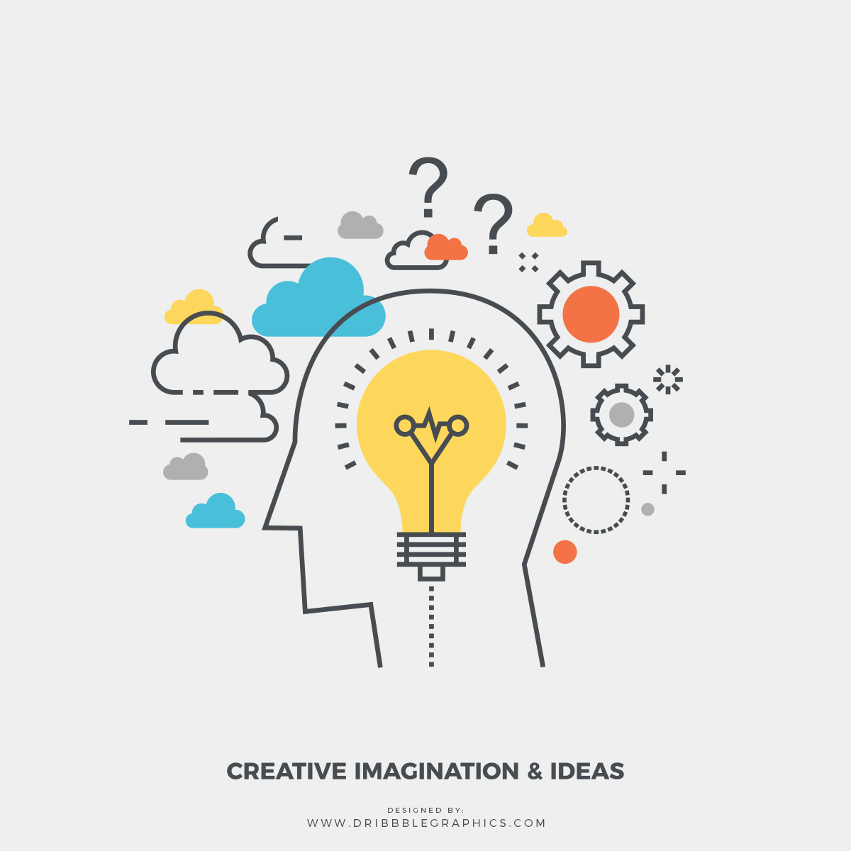 Free-Creative-Imagination-&-Ideas-Vector-Illustration