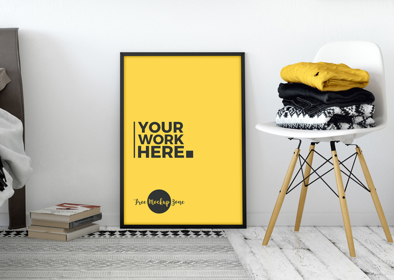 Free-PSD-Interior-Standing-Poster-Mockup-2018