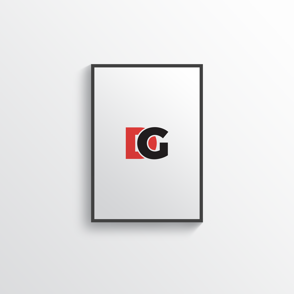 Free Simple Modern PSD Poster Frame Mockup | Dribbble Graphics