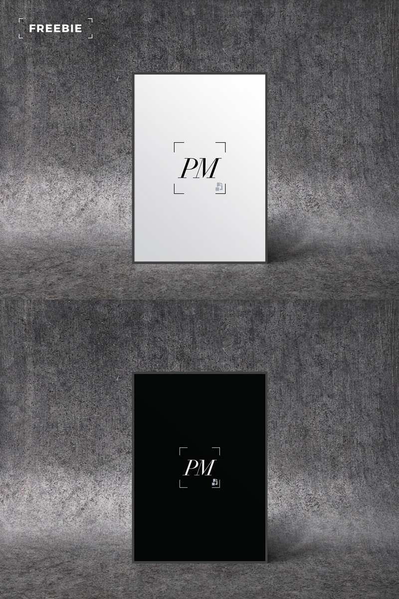 Free-Standing-Poster-Mockup-of-2018-For-Designers