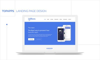 Free-Topapps-Landing-Page-PSD-Website-Template-2018