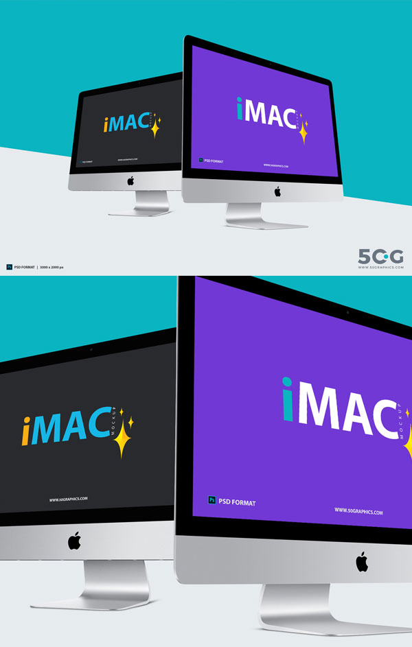 Two-Different-Perspective-iMac-Mockup-2018