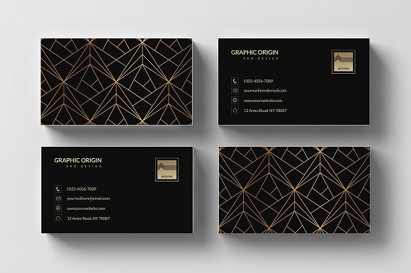 Black-Luxury-Business-Card