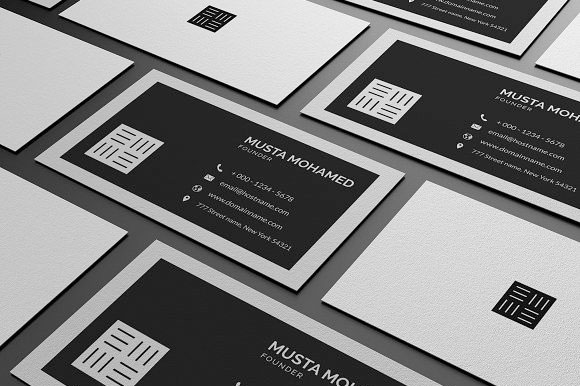 Clean-Minimal-Business-Cards