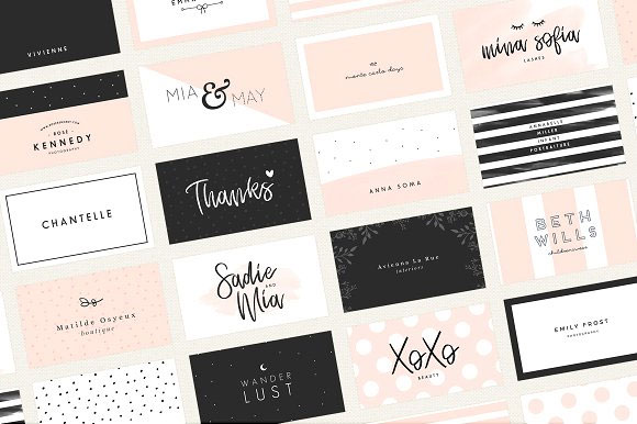 Feminine-Business-Card-Templates