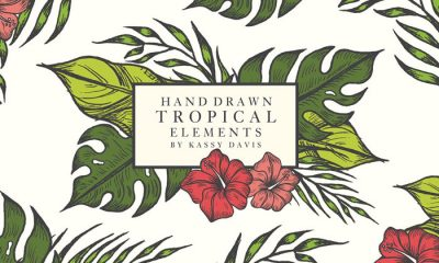 Free-Hand-Drawn-Tropical-Vector-Graphics-Elements-2018-600