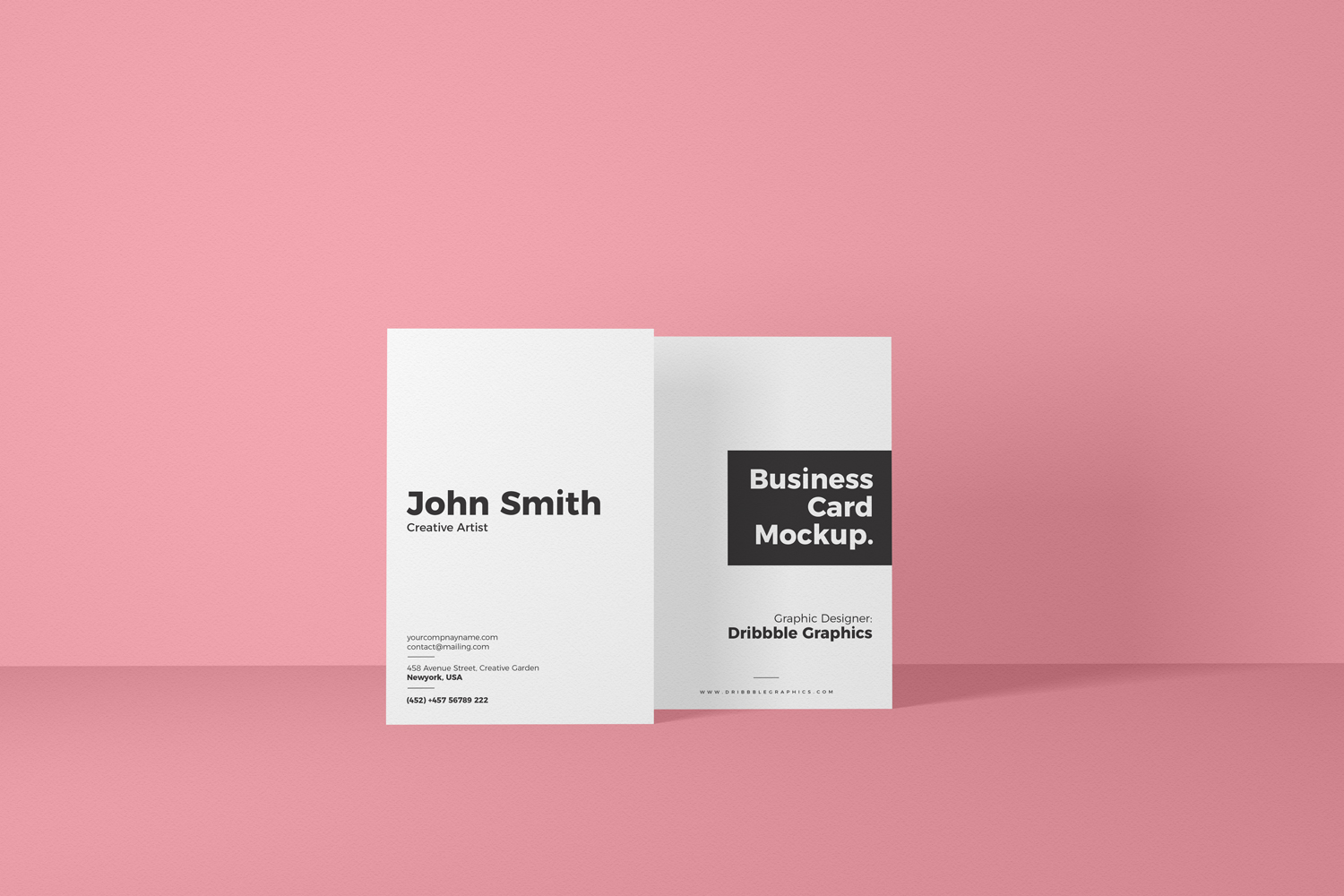 Free-Vertical-Front-View-Business-Card-Mockup-600