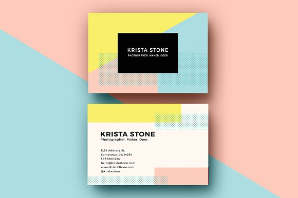 Geo-Shapes-Business-Cards-Template