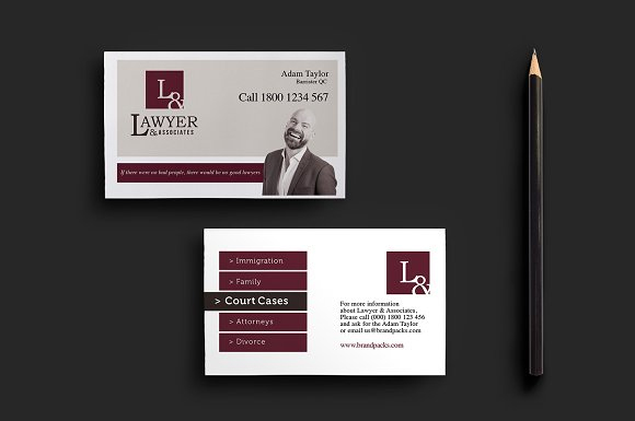 Law-Firm-Business-Card-Template