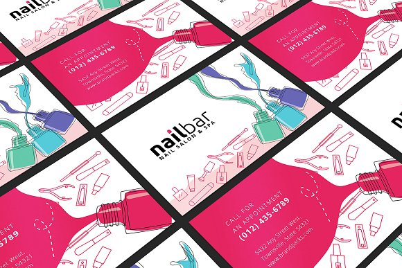 Nail-Salon-Business-Card-Template
