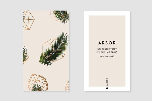 Palm-+-Geometry-Business-Card