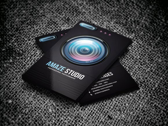 Photographer-Lens-Business-Card