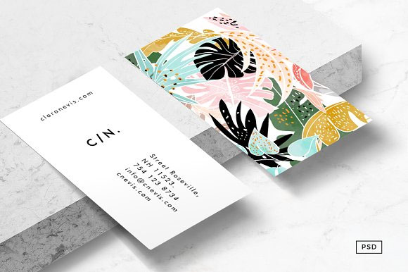 Tropical-Business-Card-Template