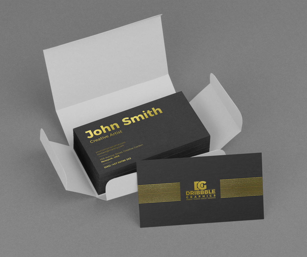 Free-Golden-Foil-Business-Card-Mockup-PSD-600