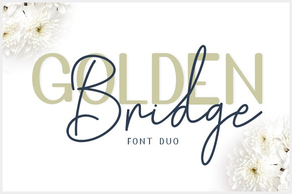 Golden-Bridge-Font-Duo