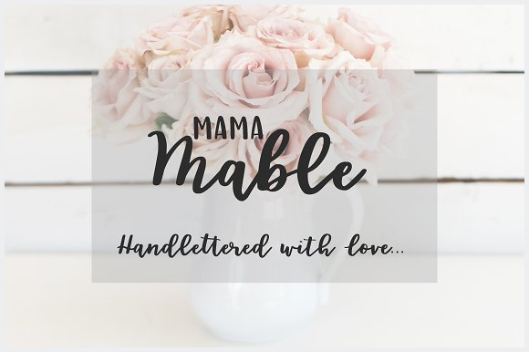 Mama-Mable-Handlettered-Fonts