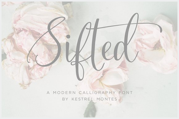 Sifted-Wedding-Font