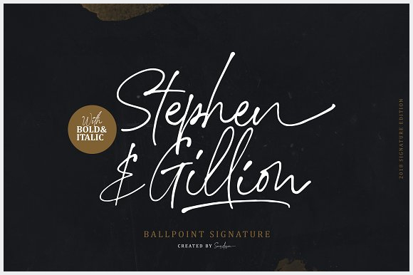 Stephen-&-Gillion-Signature-Script