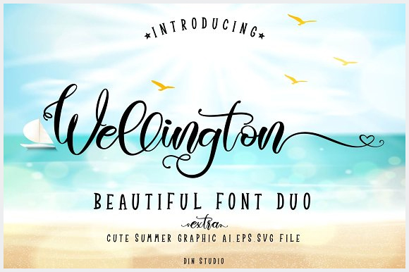 Wellington-Font-Duo-With-Extras
