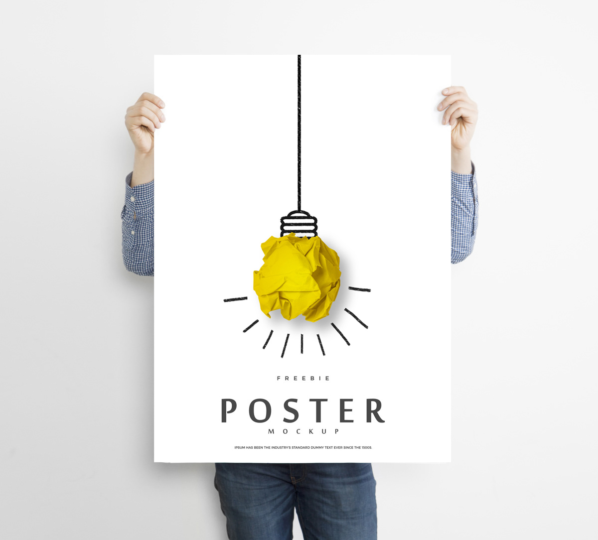 Free-Man-Holding-Creative-Poster-Mockup-For-Promotion-2018