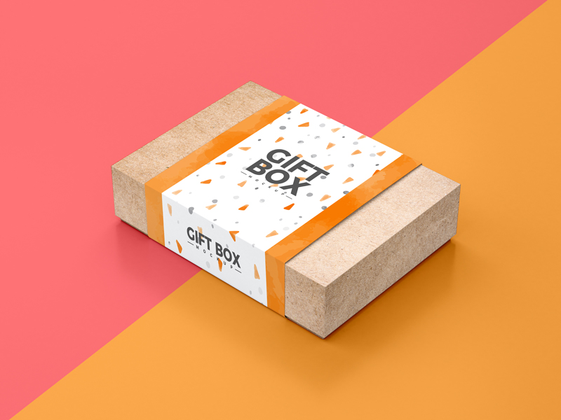 Free-Craft-Paper-Gift-Box-Packaging-Mockup-PSD