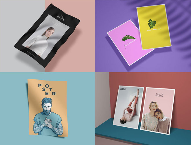 40+-Well-Designed-Poster-Mockup-Free-PSD-Files-600