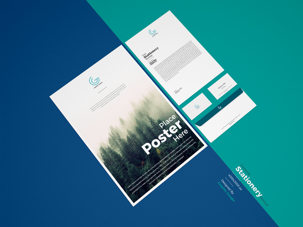 Free-PSD-Corporate-Stationery-Mockup-For-Branding-600