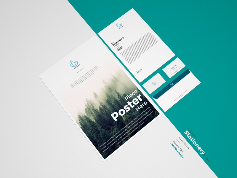 Free-PSD-Corporate-Stationery-Mockup-For-Branding