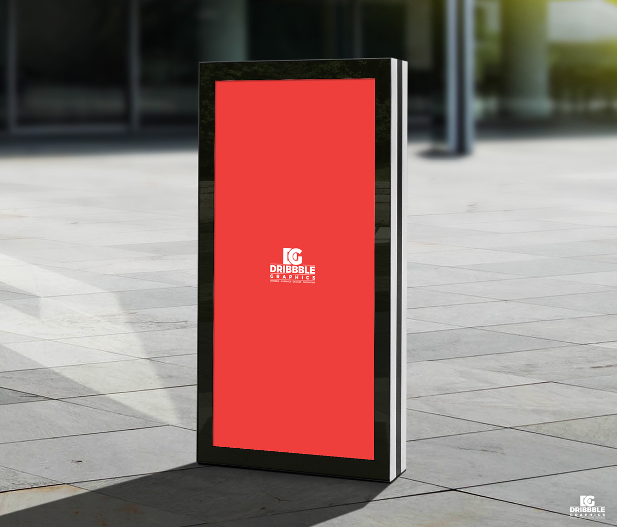 Free-Vertical-Advertisement-Poster-Billboard-Mockup-PSD-2018-600