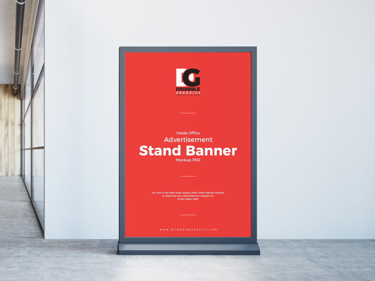Free-Inside-Office-Advertisement-Stand-Banner-Mockup-PSD