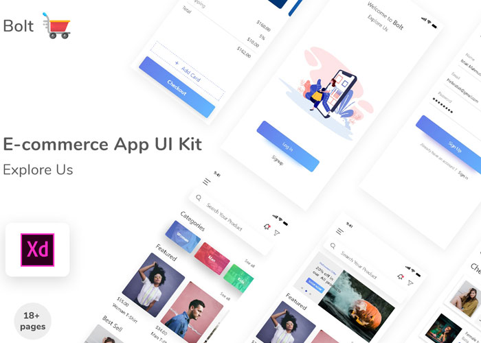 E--Commerce-App-UI-Kit