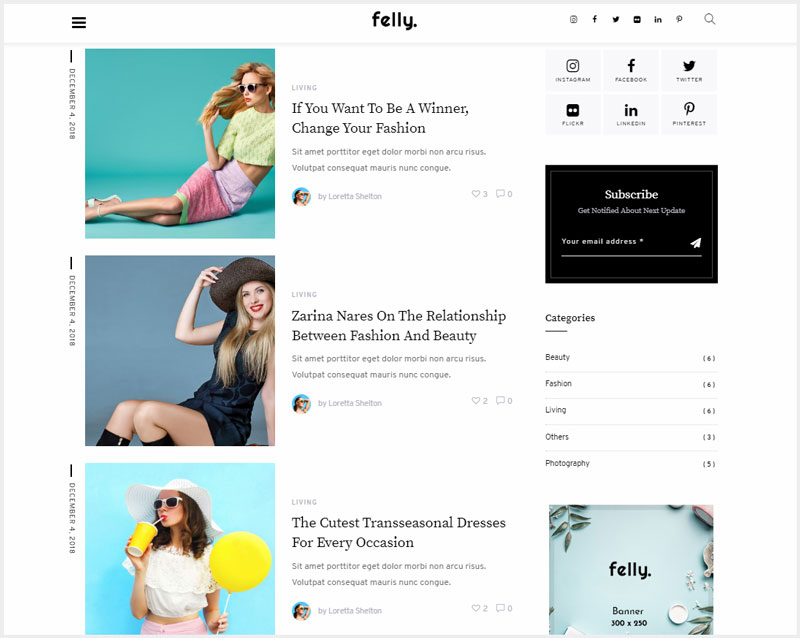Felly-Travel-and-Fashion-WordPress-Blog-Theme