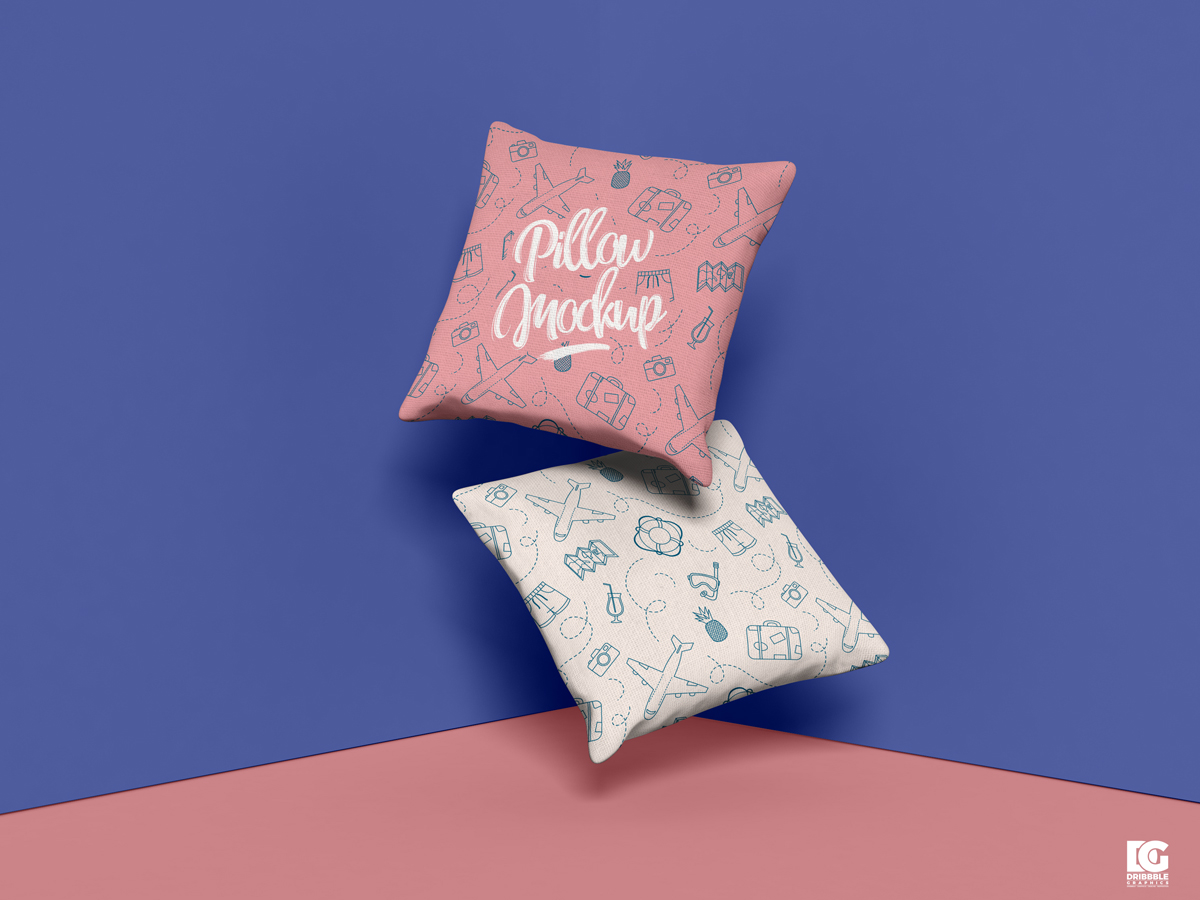 Free-Brand-Square-Pillow-Mockup-Design-PSD-2019-600