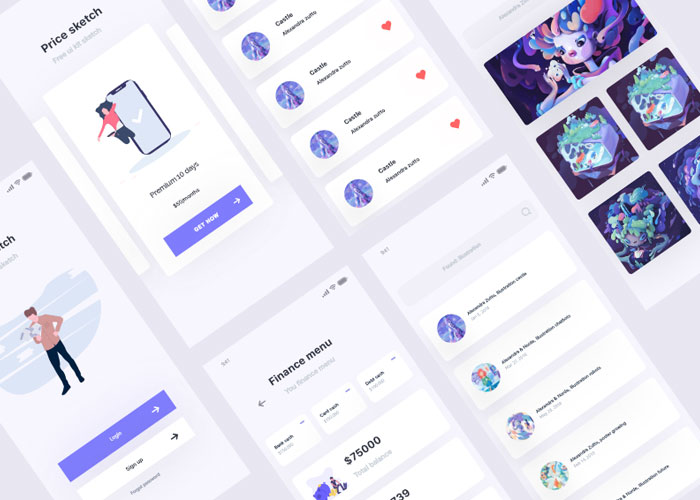 Free-UI-Kit-Design