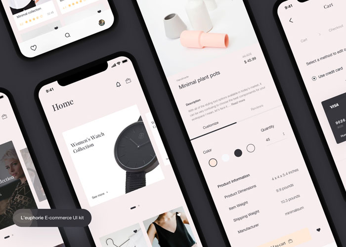 Leuphorie-E-commerce-UI-Kit
