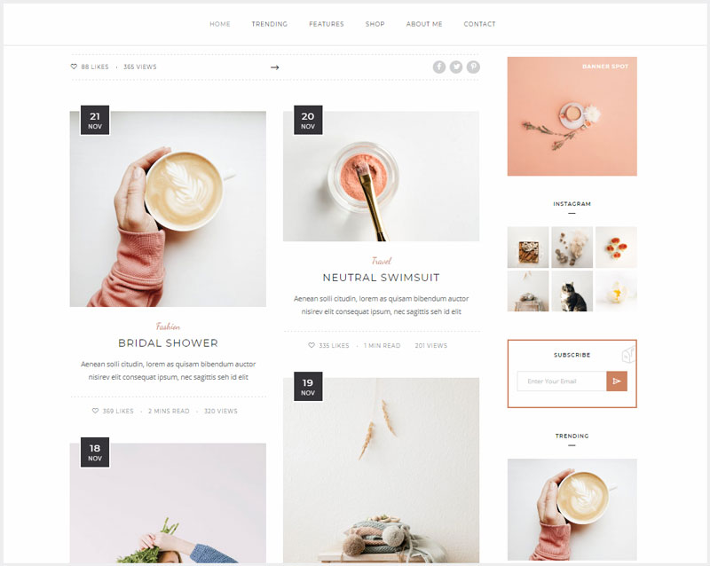 Malina-Personal-WordPress-Blog-Theme