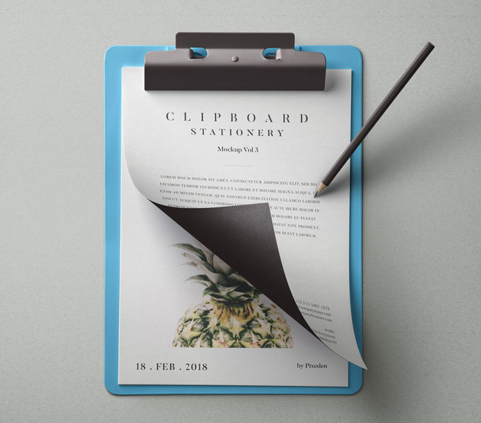 Psd-Clipboard-Stationery-Mockup