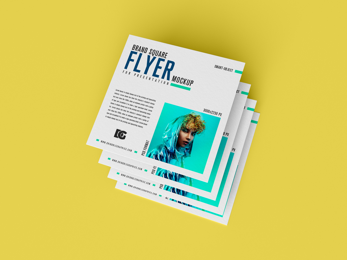 Free-Brand-Square-Flyer-Mockup-For-Presentation-2019