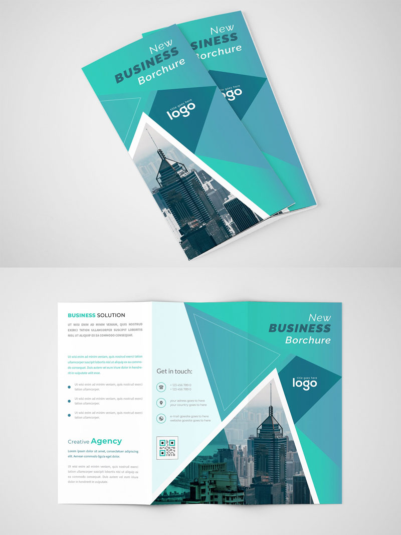 Abstract-Tri-fold-Brochure-Design-Template