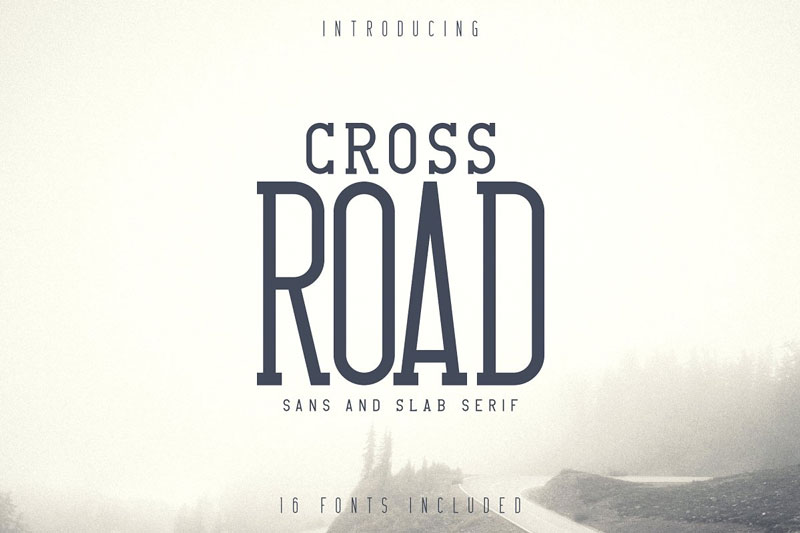 Crossroad-Sans-And-Slab-Serif-Vintage-Typeface