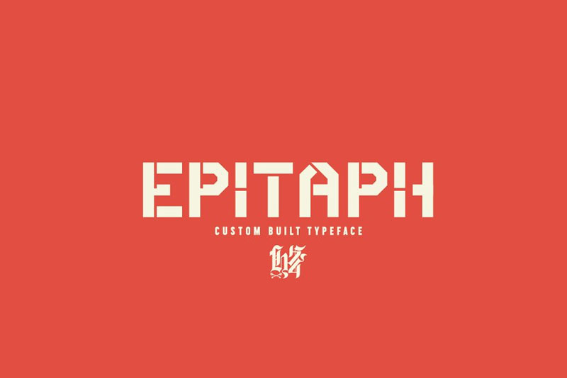 Epitaph-Custom-Built-Typeface