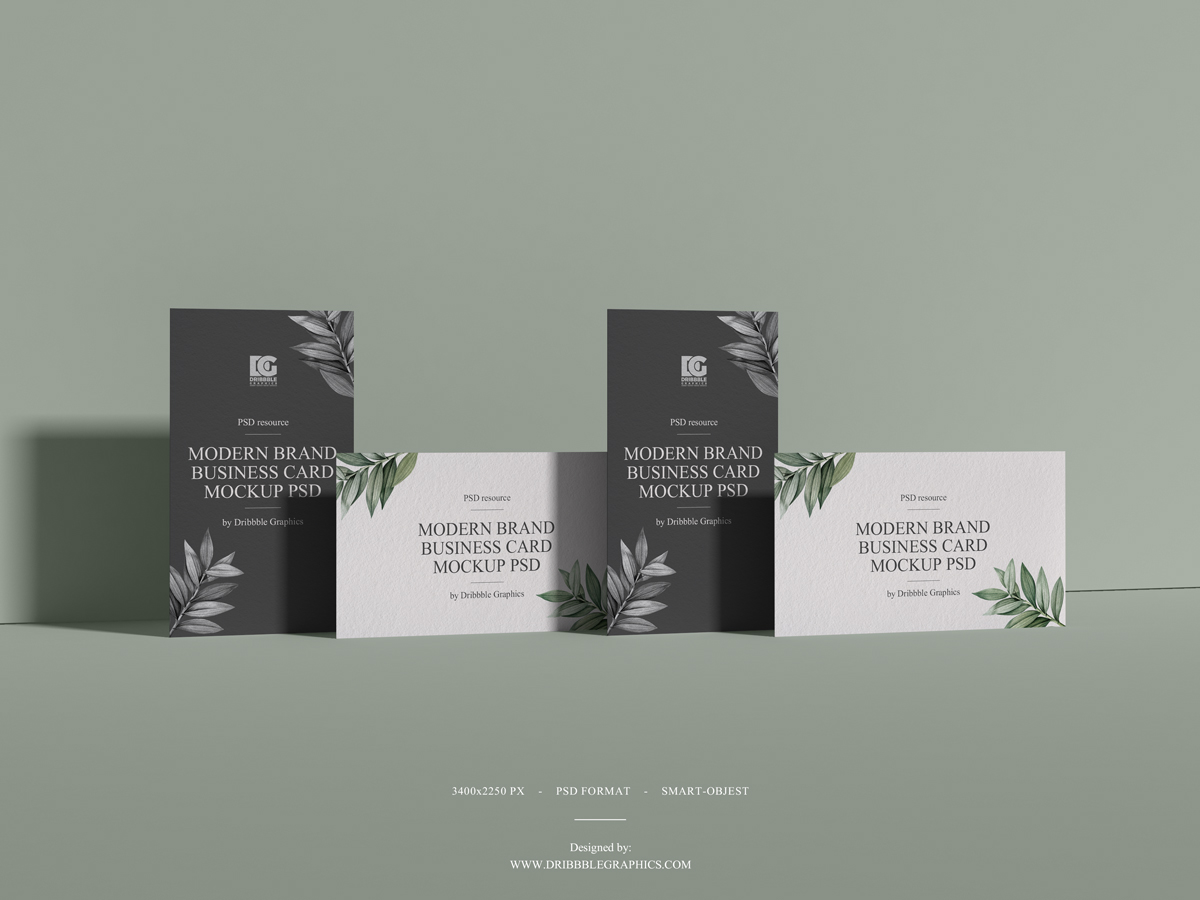 Free-Modern-Brand-Business-Card-Mockup-PSD-2019-700